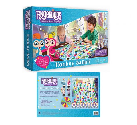 TCG Fingerlings Scavenger Hunt Board Game