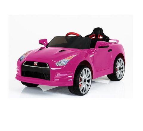 Beyond Infinity Nissan Gtr-R35 Ride On-12V Pink