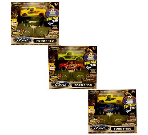 Monster Maniacs Off Road Ford F150 Single Set Plus