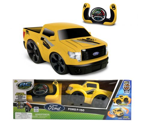 "Ford R/C 1:10 Preschool ""Chunky""  Bandit F150 Yellow"