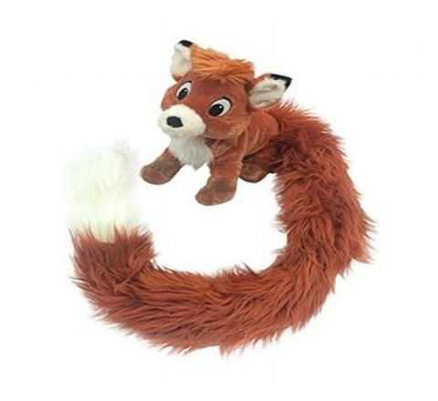 """DISNEY PLUSH TODD SCARF LONG TAIL 12"""" X 42"""" (PRETICKETED)"""