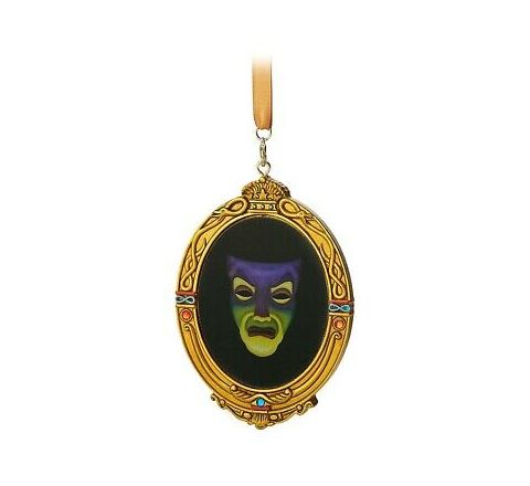 DISNEY EVIL QUEEN MIRROR ORNAMENT