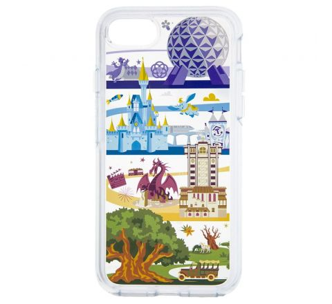 DISNEY OTTER BOX WALT DISNEY WORLD CELL IP7&8S+