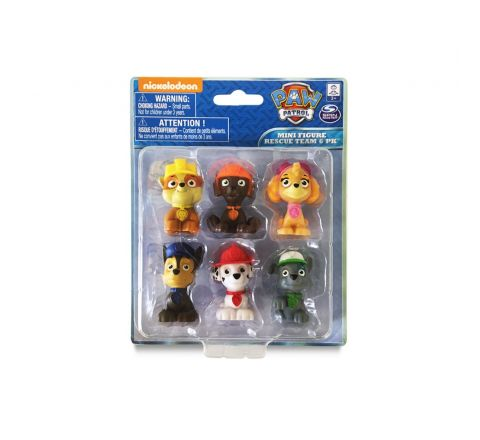 Spin Master Paw Patrol Figurines 6 pack