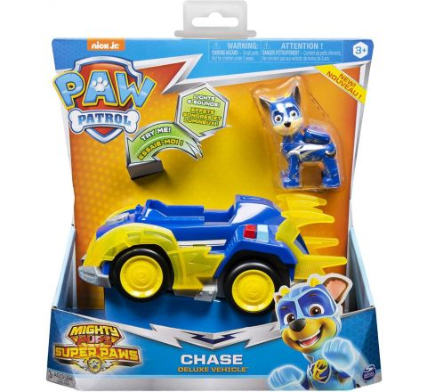 SPIN MASTER PAW PATROL SUPERPAWS CHASE DLX VEHICLE