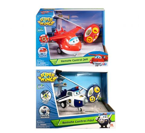 Alpha Super Wings Rc Asst 360 Degree