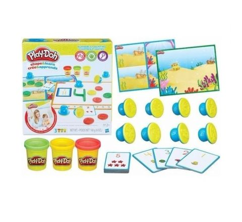 HASBRO PLAY DOH NUMBERS AND COUNTING
