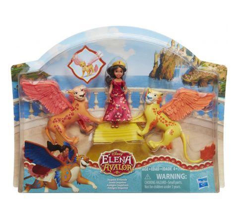 Hasbro Disney Princess Elena Of Avalor  And Elena Jaquin Friends
