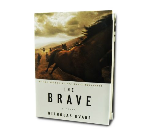 Book - The Brave By Nicholas Evans