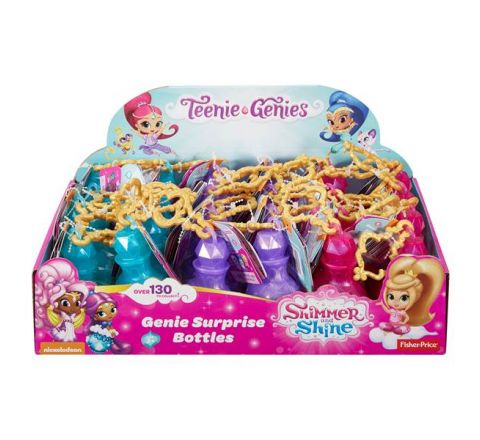 FISHER PRICE SHIMMER & SHINE FIGURINE IN BOTTLE