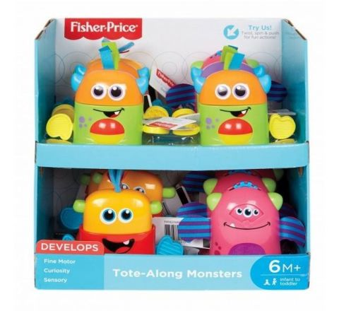 Fisher Price Mini Monster Assortment