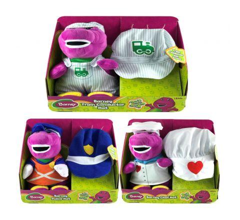 Fisher Price Barney Career Hat Asst