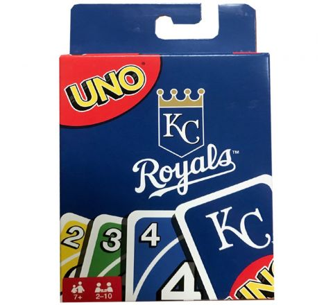 MATTEL UNO MLB KANSAS CITY ROYALS