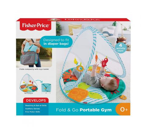 FISHER PRICE FOLD & GO PORTABLE GYM